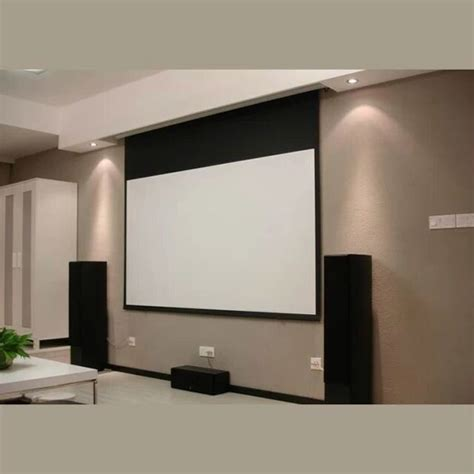 projectors for ceiling in ceiling electric projection screen with remote motorized reccessed in ceiling