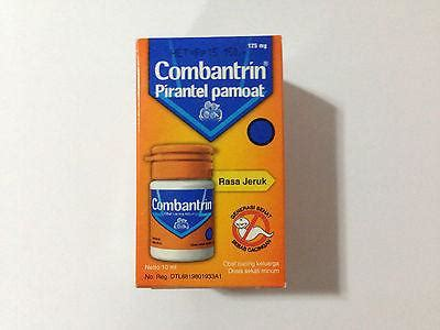 Combantrin Tab combantrin 12 tablets 3 bottles treat worms infections pinworms happygreenstore