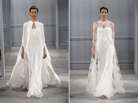 wedding trends wedding dresses with capes