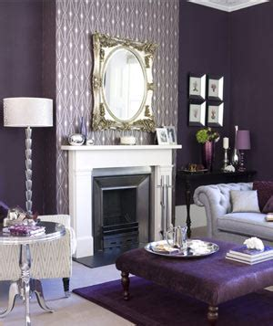 decorating  purple real simple