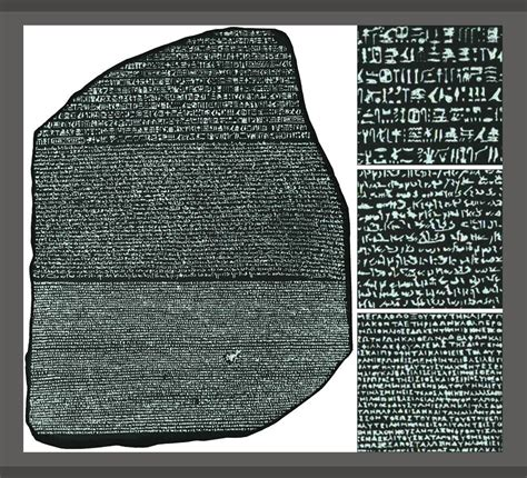 rosetta stone military rosetta stone found on july 19 1799 red sea pages
