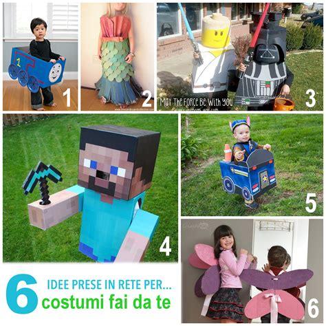 vestiti di carnevale per bambini fatti in casa costumi carnevale bambini fai da te