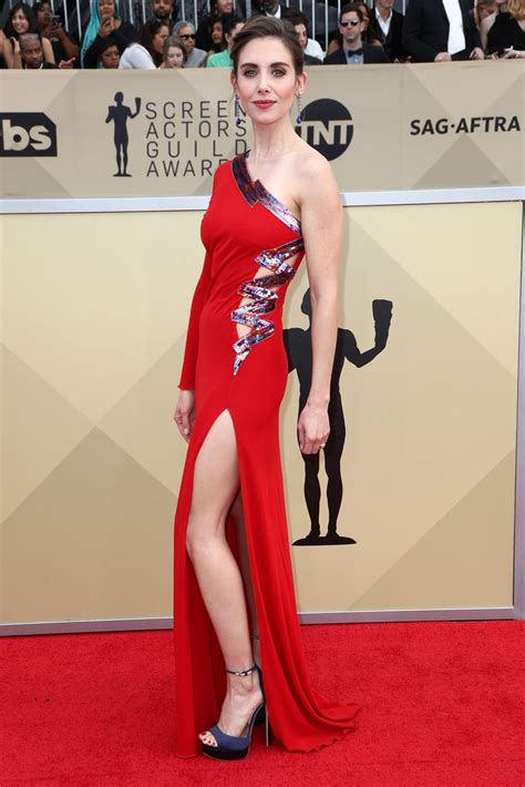 Cq At The Screen Actors Guild Awards by Alison Brie At 24th Annual Screen Actors Guild Awards In