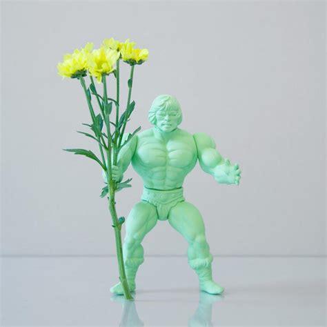 Figure Vase by Power Flower Figure Styled Vase Gadgetsin