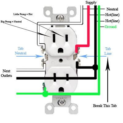 2 best images of house outlet wiring diagram schematic