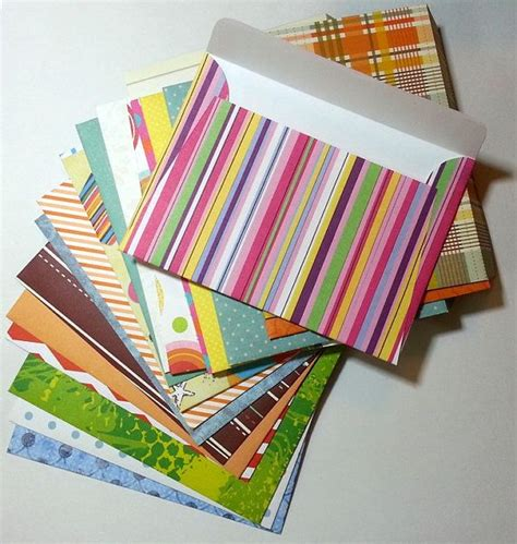 Handmade Paper Envelopes Designs - handmade envelopes a2 envelope scrapbooking envelopes