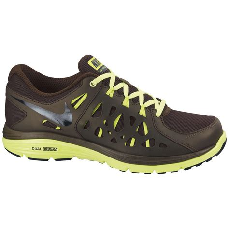 Nike Khaisi Run nike mens dual fusion run 2 shield running shoes khaki
