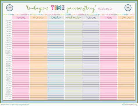 8 week calendar template okl mindsprout co