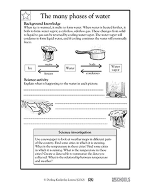 carbohydrates 5th grade 5th grade science worksheets the many phases of water