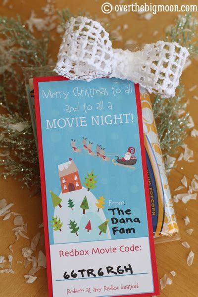 How To Get A Redbox Gift Card - redbox neighbor gift bloggers best 12 days of christmas the crafting chicks