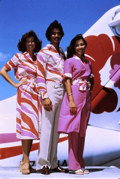 Flight Attendant Hawaii by Hawaiian Airlines 85 Years Of High Flying Fashion Hawaii Insider