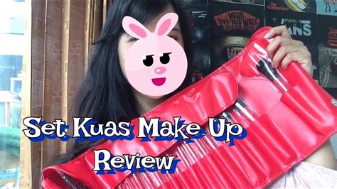 Brush Set Kuas Set Make Up For You Merah Isi 24 review make up for you brush set kuas make up set