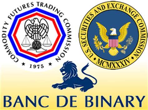 US Financial Regulators Sue Banc De Binary   Online