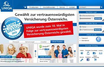 Kfz Versicherung Berechnen Uniqa by Uniqa Versicherung Online Berechnen Und Vergleichen