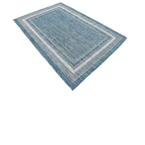 Teal 4 X 6 Outdoor Area Rugs Modern Carpets Rug Ebay 4 X 6 Outdoor Rugs