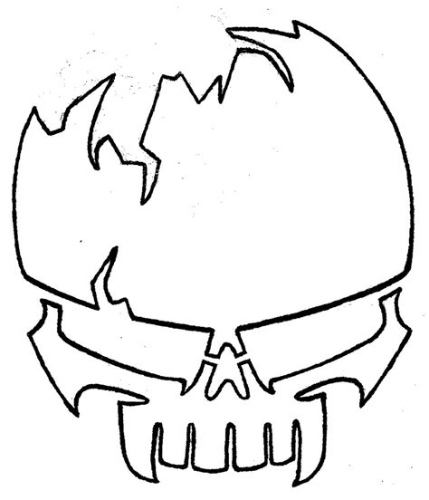 Drawing Stencils Templates stencil skull 2 by josh308 on deviantart