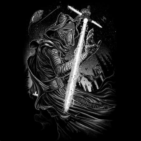 Shadow Of Kylo Ren shadow of kylo ren t shirt by starwars design by humans