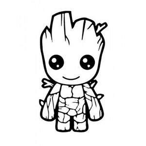 Baby Groot Sticker