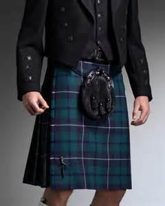Highland wear kilts
