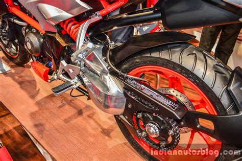 Ktm At Auto Expo 2016 by Xf3r Concept Swingarm At Auto Expo 2016