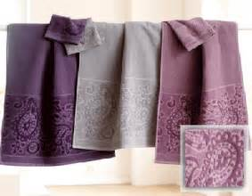 Bathroom Towels Design Ideas Floral Designs Gray Purple Color Combinationbathroom Towels