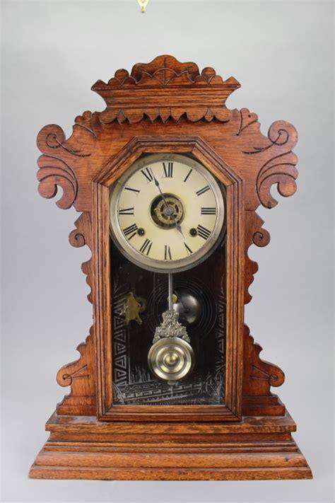 Shelf Clocks Antique by Antique Ansonia Mantel Clock
