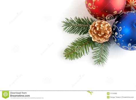 still life of christmas new year decorations stock photo