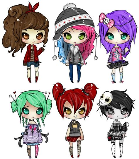 chibi girls horror an 30 best anime ipod images on manga anime anime art and anime chibi