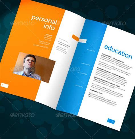 cv booklet design 20 best resume templates web graphic design bashooka