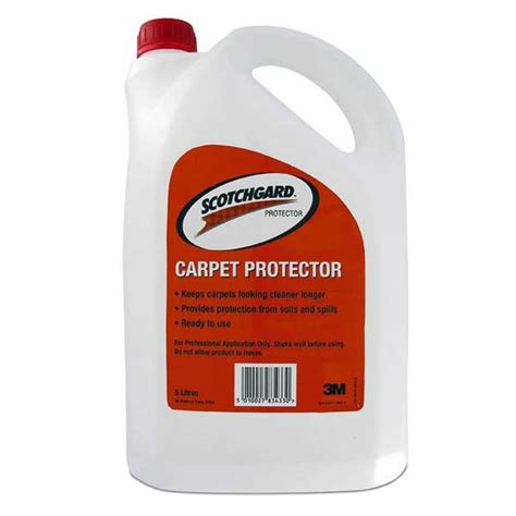 scotch guard for rugs scotchguard carpet protector 5 litre tm2401 top cleaning supplies