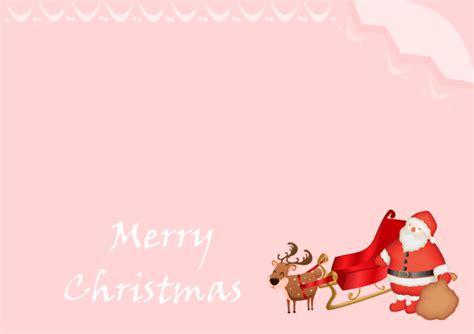 Santa Card Template by Santa Card Free Santa Card Templates