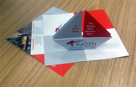 Origami Business Card - kaisen stationery sane design ltdsane design ltd