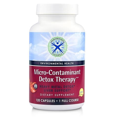 Detox Science by Micro Contaminant Detox Therapy