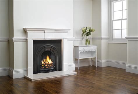 Decorative Fireplace Surrounds by Decorative Arched Insert Fireplaces Stovax Traditional
