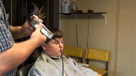 punishment haircut barber shop barber shop hair cut boy s easy cut youtube