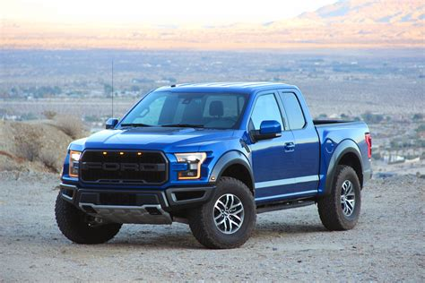 Blue 2017 Ford Raptor by 2017 Ford F 150 Raptor Review Autoguide News