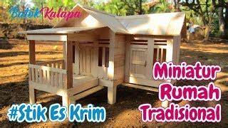 tetorial membuat miniatur rumah kardus bekas