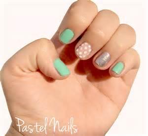 day 12 diy nail art pastel nails diy u 241 as pastel