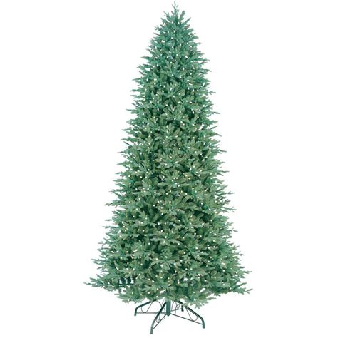 ge 10 5 ft indoor pre lit led just cut deluxe aspen fir