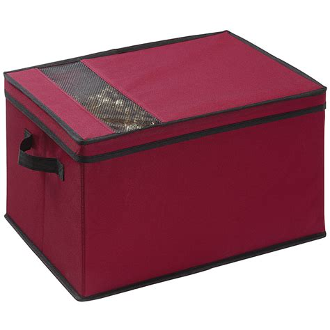 christmas storage box in ornament storage boxes