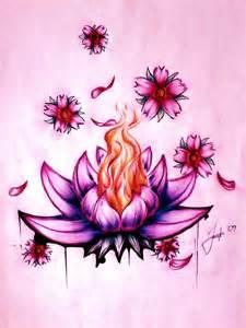 Lotus Flowers Drawings Lotus Flower By Lesweetlou On Deviantart