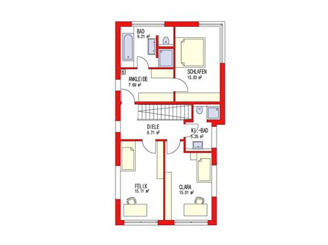 Kubus Haus Grundriss by Kubus 170 Einfamilienhaus D 246 Rr Haus Musterhaus Net