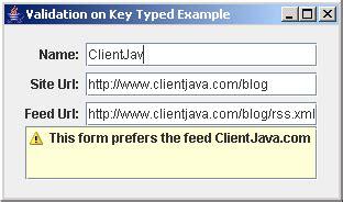 builder pattern java validation validating on key typed exle data validation 171 swing