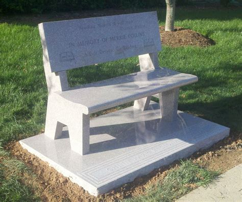 benches for cemetery granite benches granite memorial benches cemetery