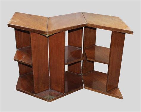 eugene printz walnut folding bookcase table 1930 for