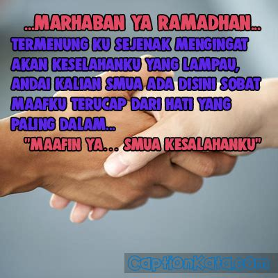 status wa ucapan minta maaf bulan ramadhan
