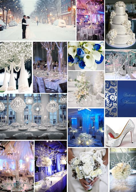 Cobalt Blue And Silver Wedding Theme