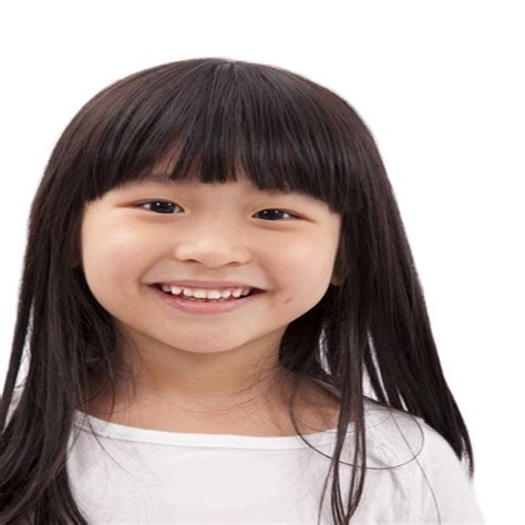 childrens haircuts bangs kids straight hairstyles with bangs zquotes