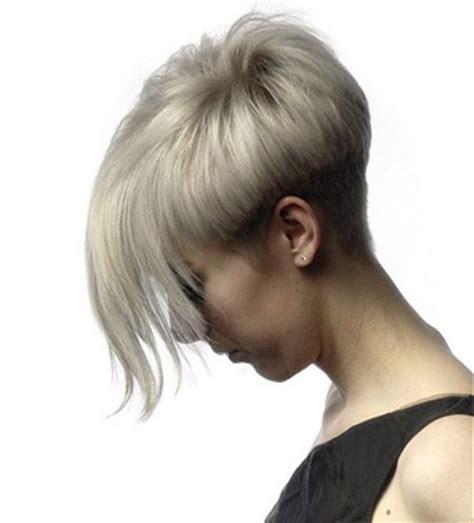 pixie cut   long bangs  fashion hairstyles trends short straight hair short