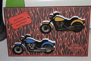 crafting with nana harley davidson motorcycle birthday card